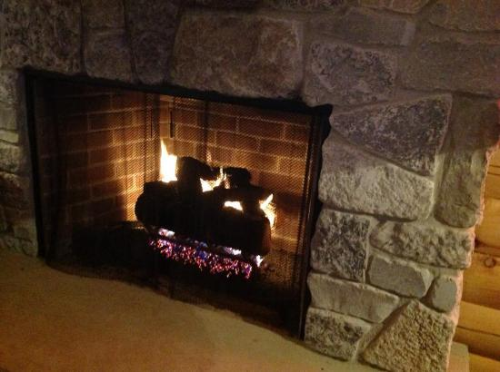 warm cozy fireplace  Picture of JJ and Freddies Stockton  TripAdvisor
