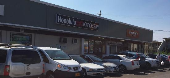 Outside Honolulu Kitchen