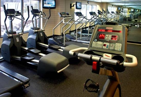 fitness center picture of courtyard by marriott nashua