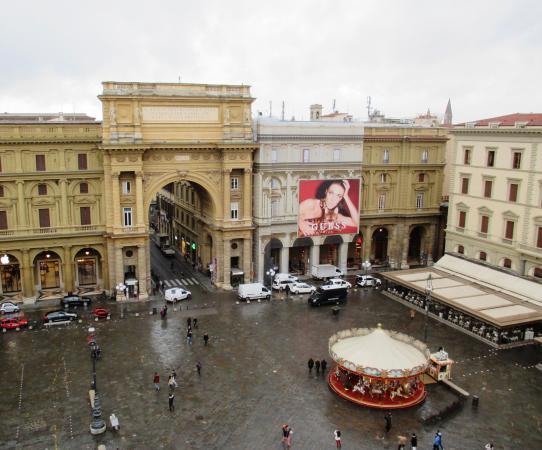 View of the Duomo  Picture of Caffe La Terrazza Florence  TripAdvisor