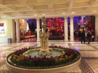 Bellagio Hotel Lobby | 2018 World's Best Hotels