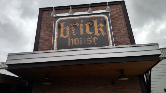 Sign over front entrance