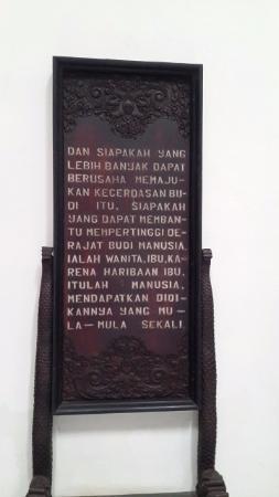 Kutipan Ra Kartini : kutipan, kartini, Museum, Kartini, Picture, Kartini,, Jepara, Tripadvisor