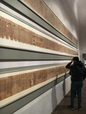 Risultati immagini per papiro lunghissimo