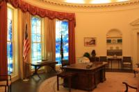 Reproduction of Oval Office - Picture of Jimmy Carter ...