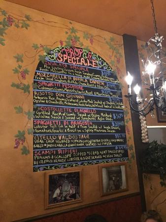 Tropea Ristorante Italiano Redmond 8042 161st Ave NE