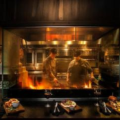 Grill Kitchen White Tile West Wood Fire Picture Of Restaurant