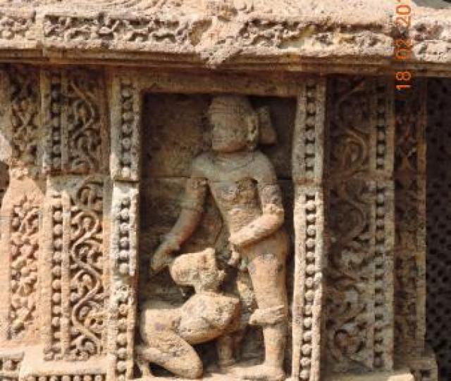 Konark Sun Temple One Of The Position From Kamasutra