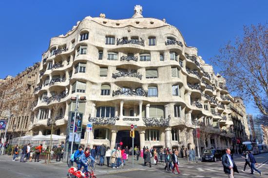 Casa Mila  Picture of Casa Mila La Pedrera Barcelona