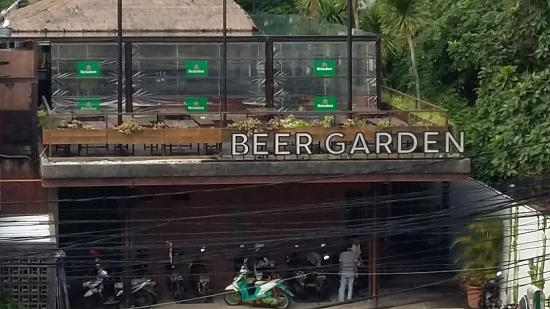 Dacha beer garden is the epitome of a traditional biergarten with its array o. View Of Beer Garden From Opposite Building Foto Penny Lane Beer House Jakarta Tripadvisor
