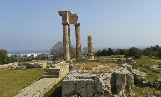 Image result for The temple of the Pythian Apollo