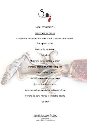 Restaurante Suite 22 en Valladolid con cocina Fusin