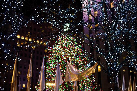 Rockefeller Center Christmas Tree New York City 2019