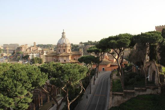 Terrazza delle Quadrighe  Foto di Roma dal Cielo Terrazza