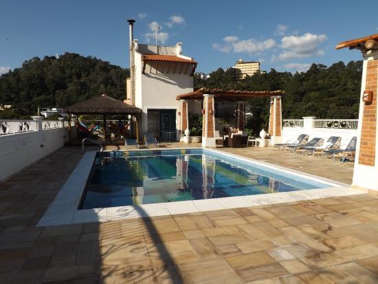 rea da piscina  Picture of Hotel Firenze Serra Negra Serra Negra  TripAdvisor