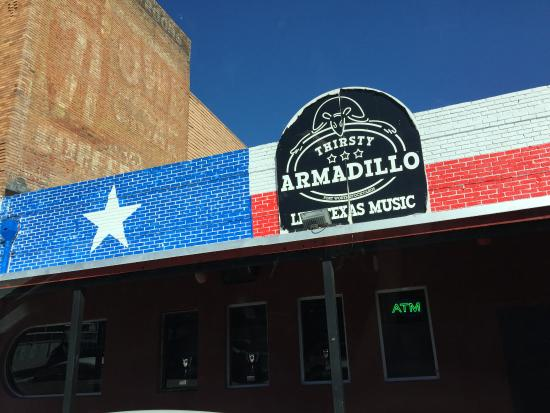 Fort Worth Stockyards National Historic District Thirsty Armadillo