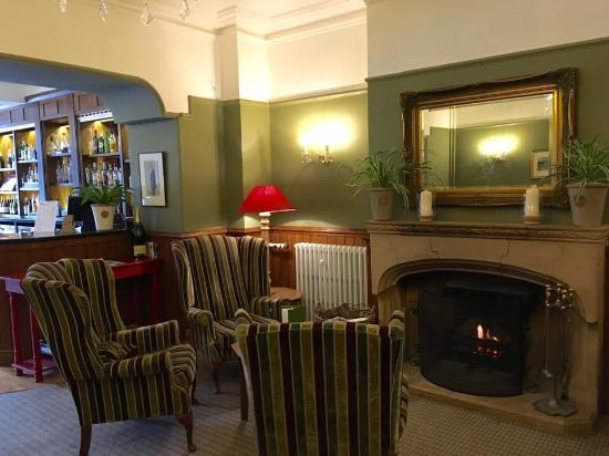 Cosy Bar Area Picture Of Hatton Court Hotel Upton St