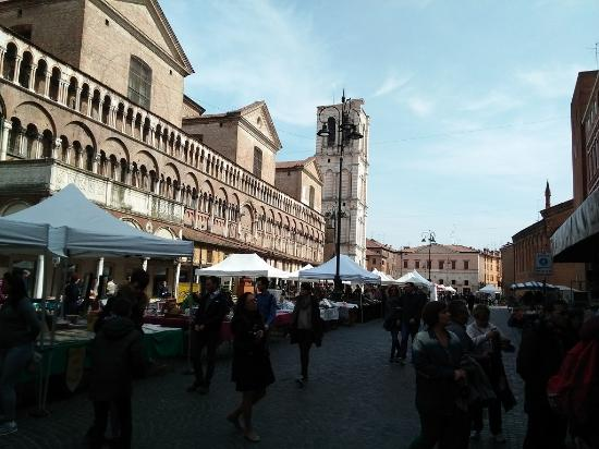 Piazza Trento Trieste with Easter market Picture of