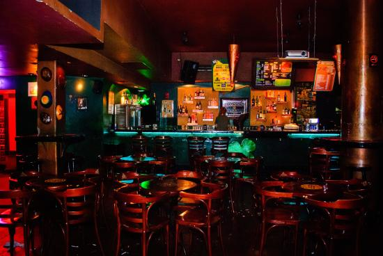 the shamrock bar basement