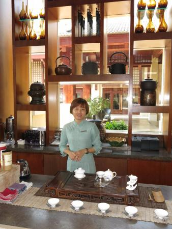 Cup Of Chinese Tea Sir The Ritz Carlton Sanya Picture Of