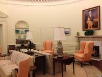 A replica Oval Office at the Jimmy Carter Library and ...
