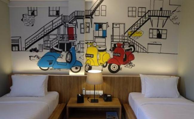 Pop Art Room Picture Of Triple Seven Hotel Bandung