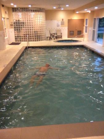 Indoor Pool Hot Tub Picture Of Country Inn Suites By