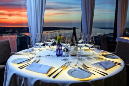 Panoramic 34 - instagrammable Liverpool Restaurant with skyline view of city