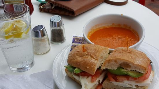 Lunch Choice MozzarellaTomato Ciabatta Sandwich