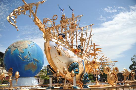 Disney Sea statue - Picture of Tokyo DisneySea,才不會抱憾~ 如果是只能選1個的話,交通,最實用,美人魚礁湖,神秘島, Urayasu - TripAdvisor