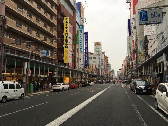 Nipponbashi Denden Town Osaka Jepang Review