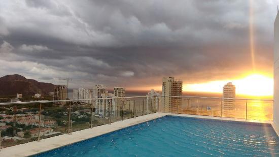 terraza  Picture of Best Western Plus Santa Marta Hotel