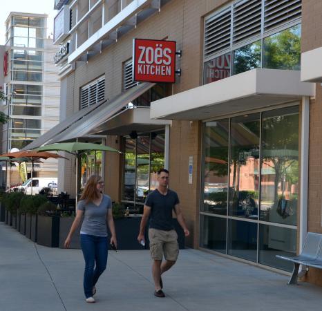 Zoes Kitchen Charlotte  1055 Metropolitan Ave