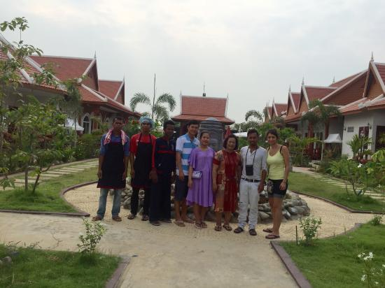 Taking Photo With Our Guests Ravorn Villa Boutique Resort