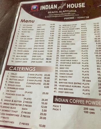 Indian Coffee House, Kottayam  Restaurant Reviews, Phone