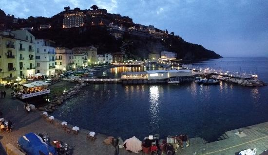 Marina Grande Sorrento Ristorante Bani il Delfino is at the end of the pier  Picture of