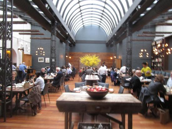 The Milling Room  inside dining room long view