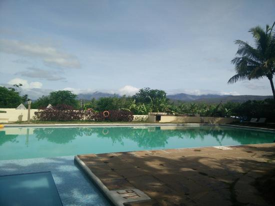 good scenery from pool