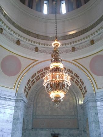 Washington State Capitol Tiffany Chandelier