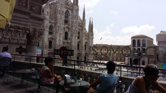 Vista sul Duomo e sulla Torre Velasca  Picture of Terrazza Martini Milan  TripAdvisor