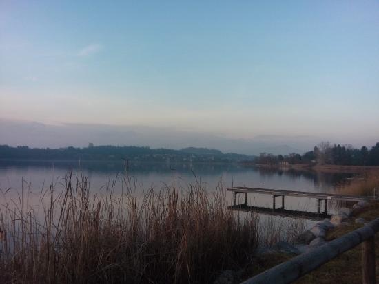 Romanticismo del Paesaggio Lacustre  Picture of Pista