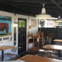 Kitchen Goods Store Rustic White Cabinets And Taproom Next Door Picture Of Florida Cracker