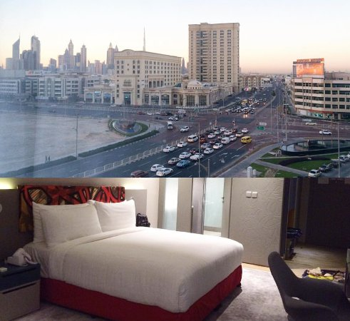 The Great View From My Window Picture Of Ibis Styles Dubai