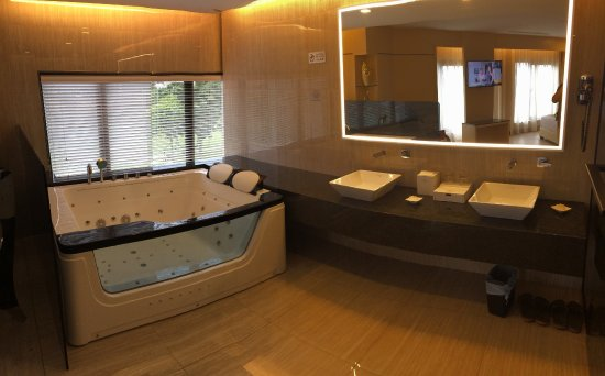 Jacuzzi And Sink Area Picture Of Geobay Hotel Johor Bahru
