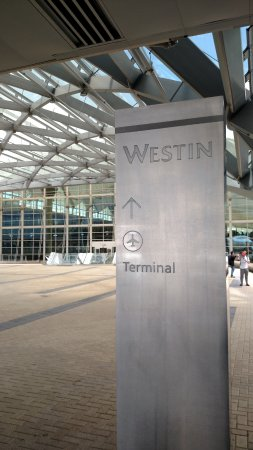 Just Next Door To Terminal Picture Of The Westin Denver