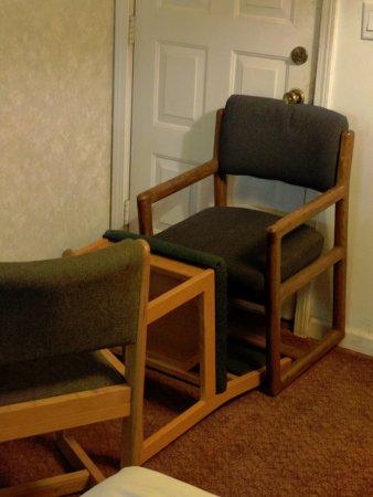 Lock Door With Chair