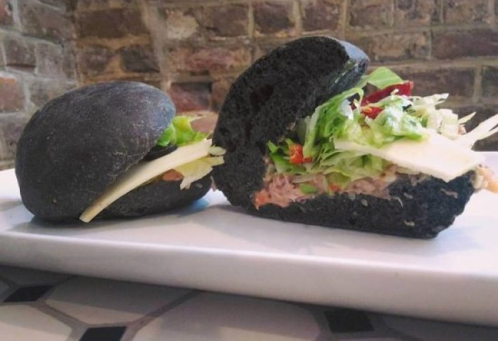 Black Bread Sandwich Picture Of Le Cafe Gourmet Savannah
