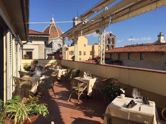Terrazza Panoramica  Photo de Vista Wine Bar Florence