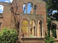 Barnsley Mansion Ruins - Picture of Barnsley Resort ...