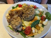 Live Med Salad - Picture of Zoes Kitchen, Plano - TripAdvisor